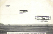 Quinzaine d'aviation de Stockel. Un Match de vitesse