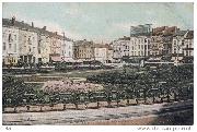 Anvers. Square et Place de la Gare