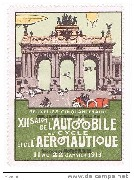 XII salon automobile, cycle et aéronautique Bruxelles 1913